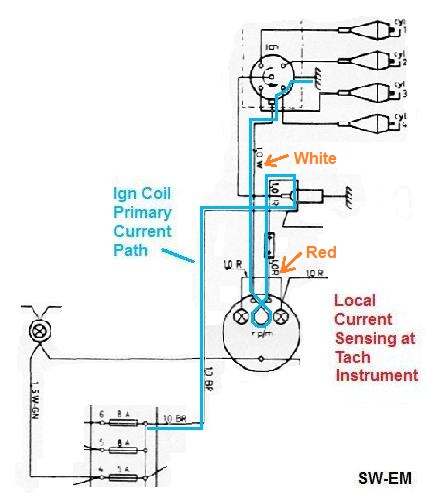 Motorcycle Speedometer Wiring Diagram : Smith tachometer wire diagrams free engine image