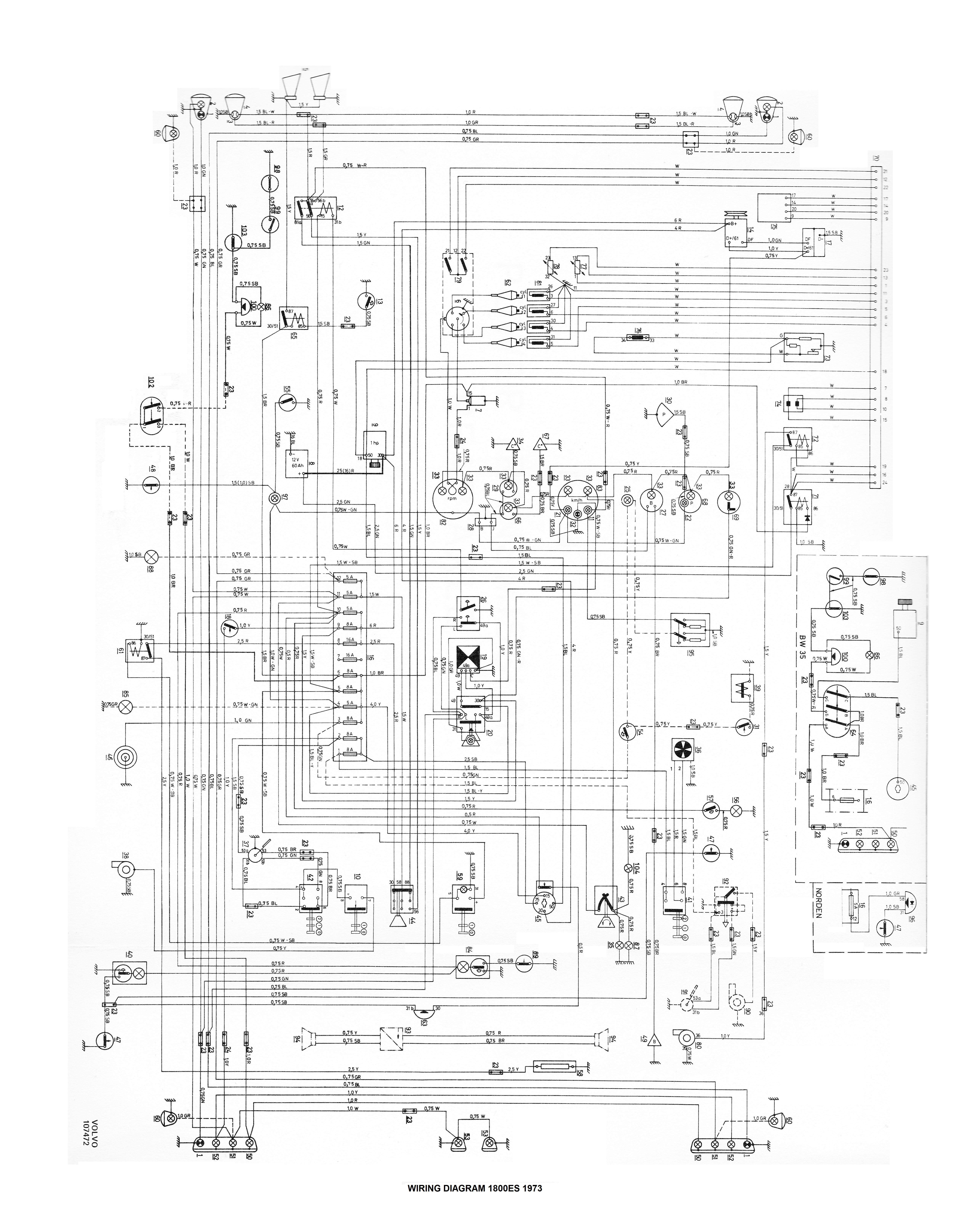 Service%20noteson Volvo 1800es Wiring Diagram