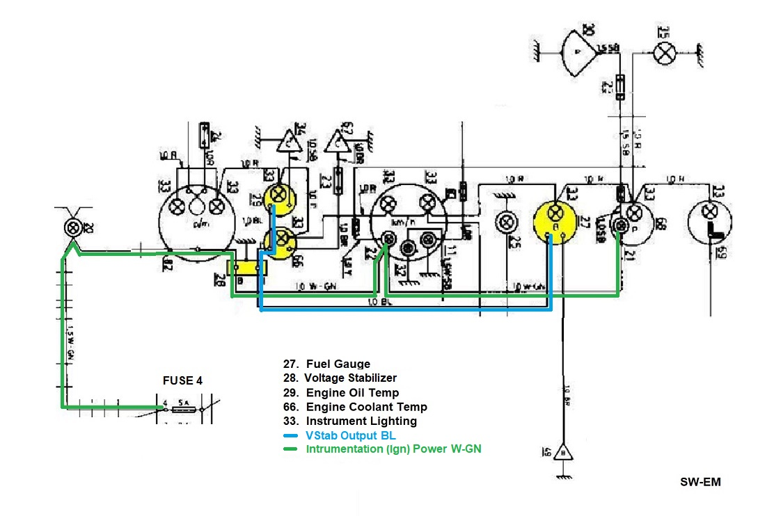 Sun Super Tach Wiring Diagram http://sw-em.com/service%20notes.htm