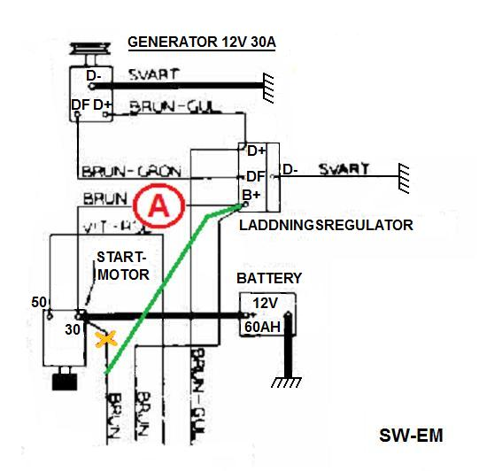 Amp Meter Ammeter Gauge Wiring Diagram from sw-em.com