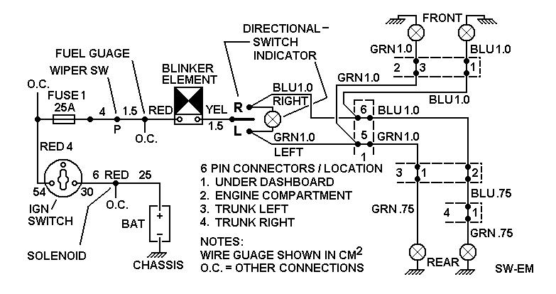 Sw Em Electrical Troubleshooting Notes