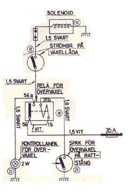 OD_wiring_from p1800_man_latching sw em od retrofitting on a vintage volvo 86 lockout relay wiring diagram at crackthecode.co