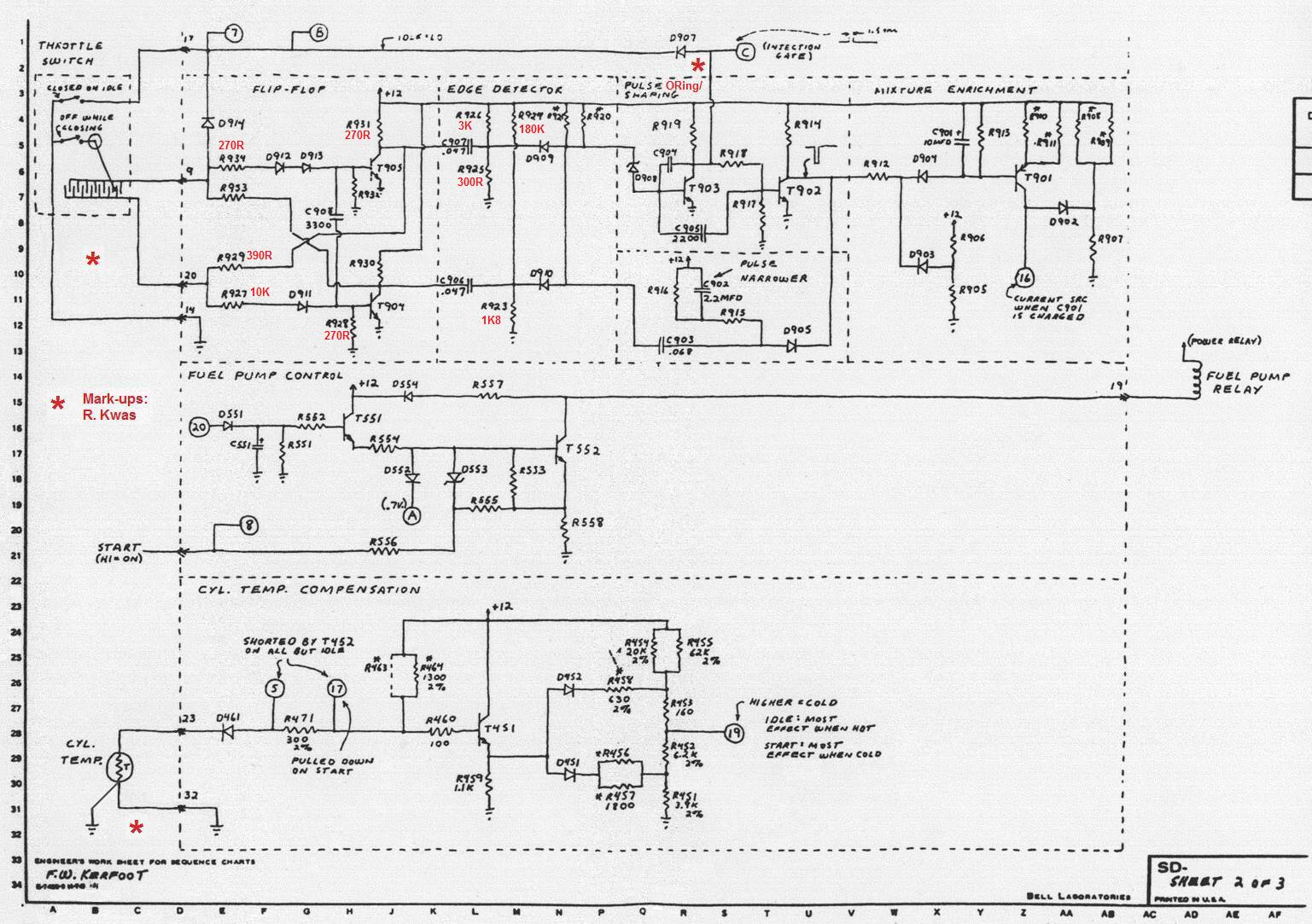 1975 porsche 911 fuel pump wiring diagram nissan 240sx