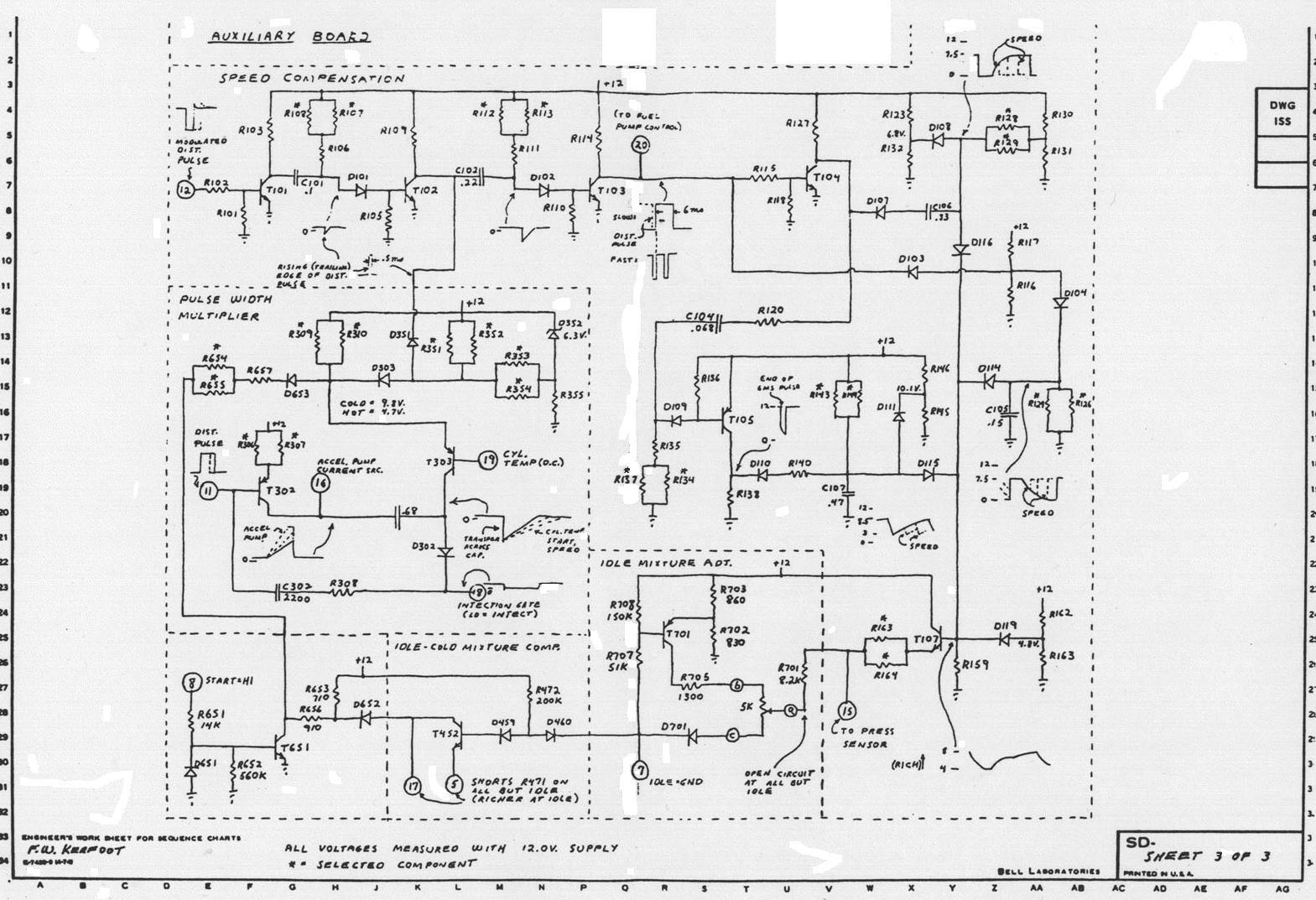 sw-em bosch d-jet notes ecu schematics  #3